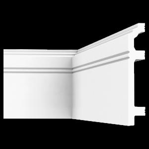 Плинтус напольный из дюрополимера П12