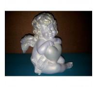Скульптура ангелочек малая из гипса ск001 в Новосибирске