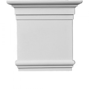 92815-1R капитель для камина из полиуретана