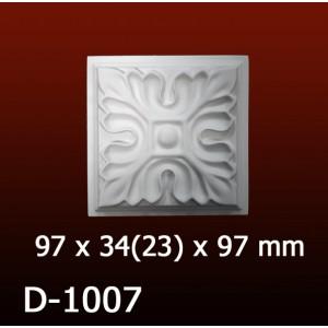 Дверной декор D1007(97*34/23*97) OptimalDecor