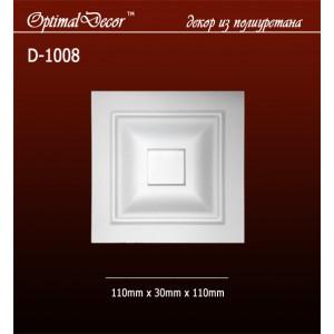 Дверной декор D1008 (110*30*110) OptimalDecor