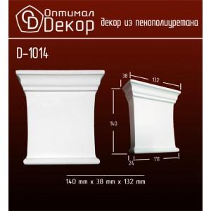 Дверной декор D1014(140*138*32) OptimalDecor