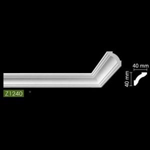 Гладкий Потолочный гибкий профиль Z1240