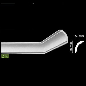 Гладкий Потолочный гибкий профиль Z16