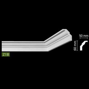 Гладкий Потолочный гибкий профиль Z18