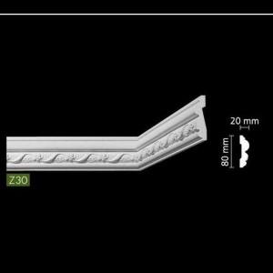 Гладкий Потолочный гибкий профиль Z30