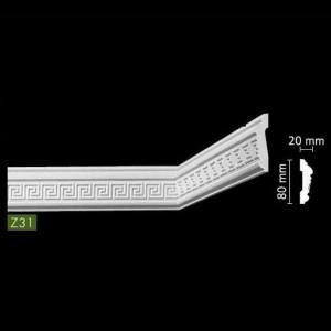 Гладкий Потолочный гибкий профиль Z31
