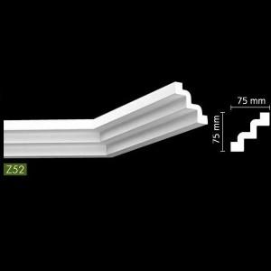 Гладкий потолочный профиль Z52