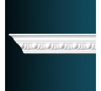 потолочный плинтус с орнаментом Гибкий AA013F