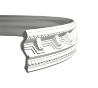 потолочный плинтус с орнаментом Гибкий 1.50.169F