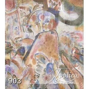 Фреска абстракт фр0903