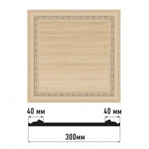 Декоративная панно D30-11 (300*300)