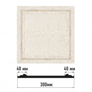 Декоративное панно D30-41 (300*300)